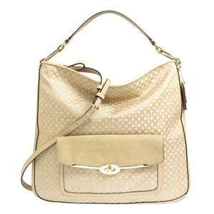 Coach Madison Op Art Pearlescent 27906 Hobo Bag